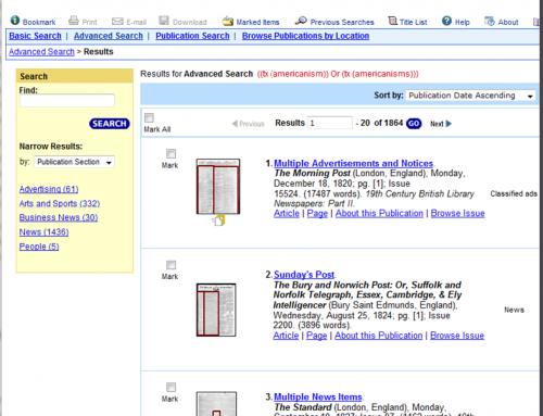 The Digital Turn: Exploring the Methodological Possibilities of Digital Newspaper Archives