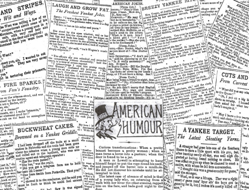 Jonathan's Jokes: American Humour in the Late-Victorian Press